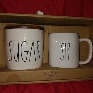 Rea dunn sugar and Sip Mug